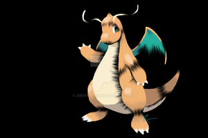 Dragonite by AbbyRoses