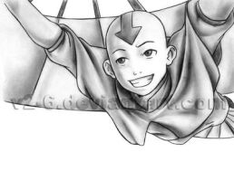 Avatar: Aang Pencil by v2-6
