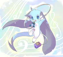 Commission : Melody of Life by Kiotii