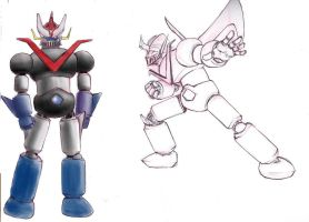 Great Mazinger by EmeraldWeapon