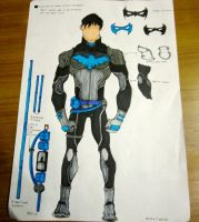 Nightwing Costume Idea by neuronboy42