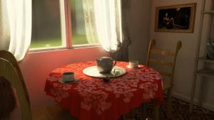 Table set scene by Avitus12