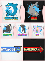 Free! Iwatobi Swim Club T-Shirts are Available! by Bon-Bon-Bunny