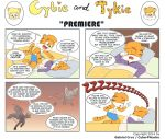 Cybie and Tykie - Premiere by CyberPikachu