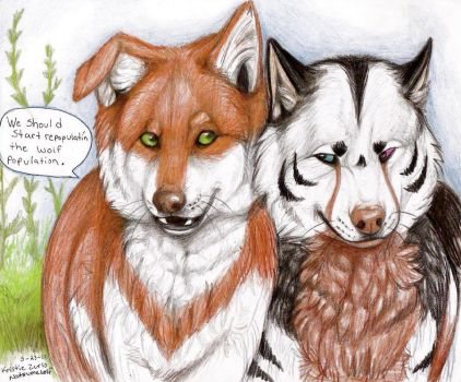 .. Wolf Repopulation .. by NatsumeWolf