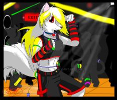 Kia the raver Pic 2 by KiaTheWolf