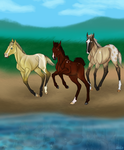 Round Table Foals by RoseThornStables