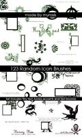 Misc Icon Brushes by draconis393