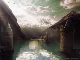 Lake of Towers by parapetista