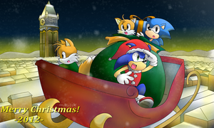 Sonic Generations - Christmas in Spagonia! by kjshadows131