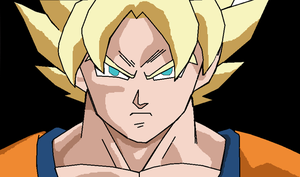 DragonBall Z - Goku (another drawing) by LamePie