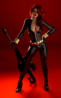 Black Widow - IRAY 3 by bigcurf