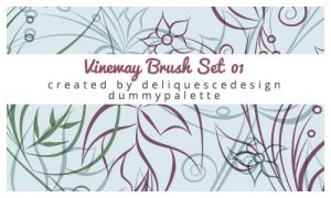 Vineway Photoshop Brushes by deliquescedesign