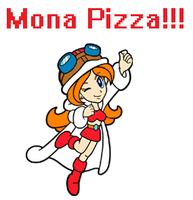 MMD Request: Mona Pizza!!! by EpicN