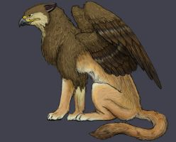 Pencil Gryphon by gryphonworks