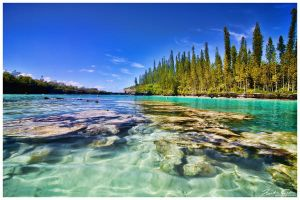 Natural Aquarium - Isle of Pines New Caledonia by jaydoncabe
