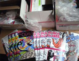 Boxes of Coma comic by javierhernandez