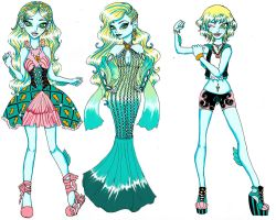 Lagoona Blue Fashion Set by PersephoneKat