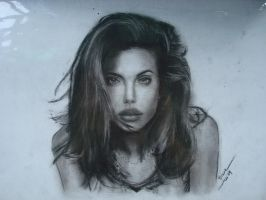 Angelina Jolie by happymint
