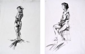 Figures from Ringling Semester 1 by WorkOfFart