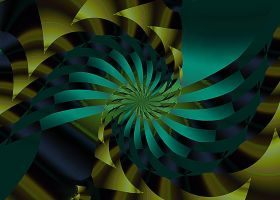 Ribbon Spiral by FranEll3
