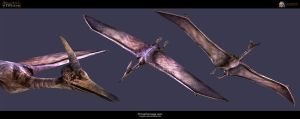 Primal Carnage Pteranodon by Ikechi1