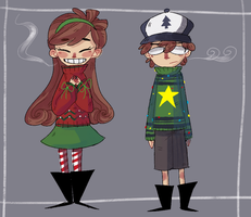 Ugly Sweaters by PastelWing