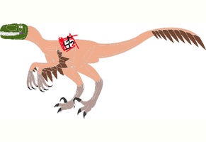 Dinofied nazi party member by benuterf