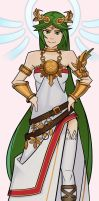 Lady Palutena by SplashBrush