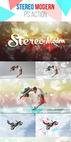 Stereo Modern Art PS Action by DenisFlank