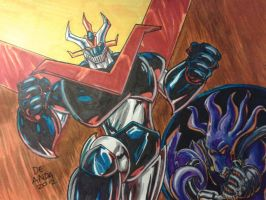 The Glyph Pilots The Great Mazinger By Chachaman by Estonius