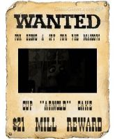 Cupcake's Wanted Poster by kinginbros2011