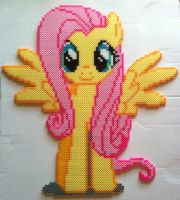 Fluttershy - birthday present for my friend by cardinalchang