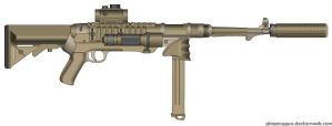 Poor Mans MP5 by MacArther
