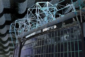 Abstract Old Trafford by MKingle