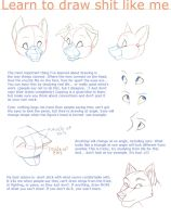 How to Draw Shit Like Me by WillowWhiskers