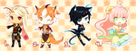 Lucia adoptables // ENDED by Pokey-Chan