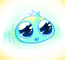 poof droplet by momijigirl