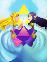 Zelda and Hilda by Vonny88