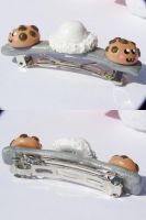 Icecream and Cookies Barrette by Shelby-JoJewelry