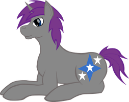 Cobalt laying down :digital vector: by Earth-pony-mischief