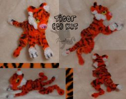 Tiger - Pipecleaners by kalicothekat