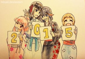 Happy New Year! by h0saki