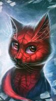 Spider-cat by NaionMikato