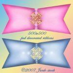 PSD Decorative Ribbons by Junk-stock