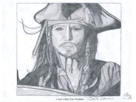 Captain Jack Sparrow by like-like-you-dream