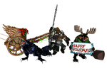 'Smite' Fenrir pack XPS ONLY!!! by lezisell