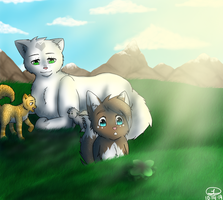Icekit and Family by selene411
