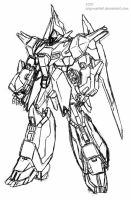 AMX-107 BAWOO Sketch by Seig-Warheit