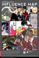 Influence Map by BottledWishes